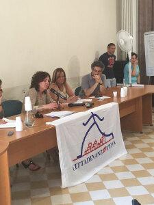 la Conferenza stampa di Cittadinanzattiva, con l'assessora Francesca Danese