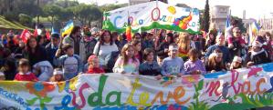 Manifestazione del Celio Azzurro, tratta dal sito
