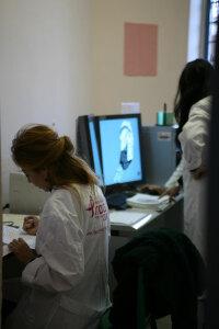 Personale medico al lavoro