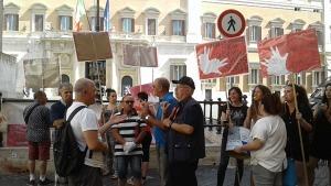 protesta istituto statale sordi
