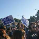 manifestazione degli studenti
