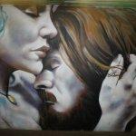 murale a Roma