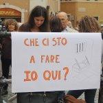 """""""Siamo in piazza per chiedere un atto morale e di profonda umanita'"""