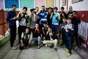boxe contro l'assedio