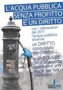 Acqua diritto alla vita