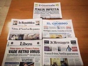 coronavirus e media