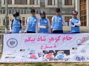cicliste afghane